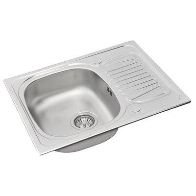 Pyramis Sparta 62cm x 50cm Kitchen Sink