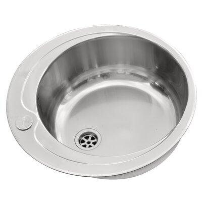 Pyramis 48.5cm x 48.5cm Kitchen Sink