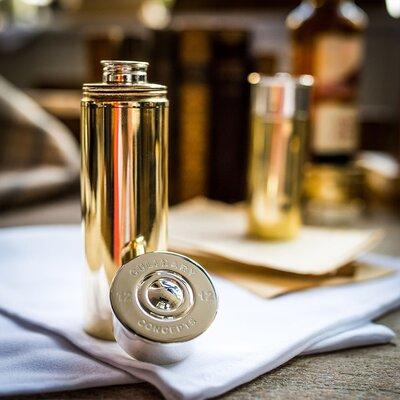 Culinary Concepts 6 Fluid Ounces Cylindrical Hip Flask