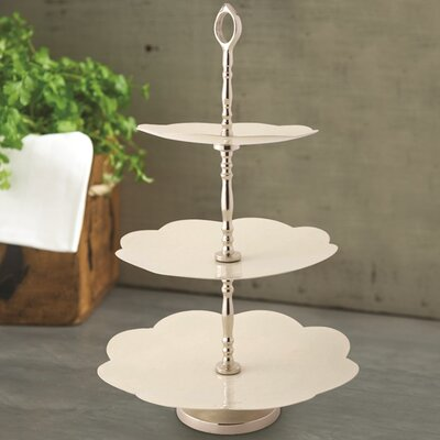 Culinary Concepts 3 Tier Daisy Cake Stand