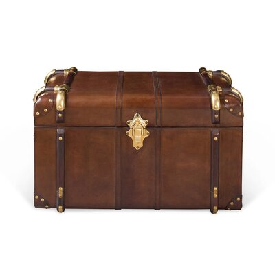 Culinary Concepts Havana Small Leather Travelling Trunk