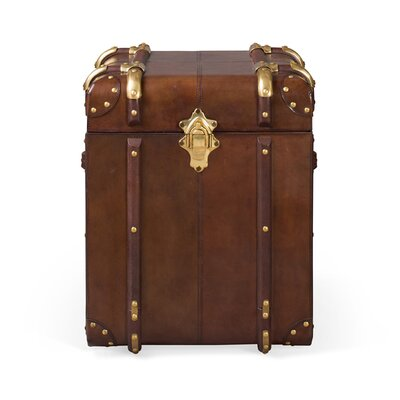 Culinary Concepts Havana Small Leather Side Trunk
