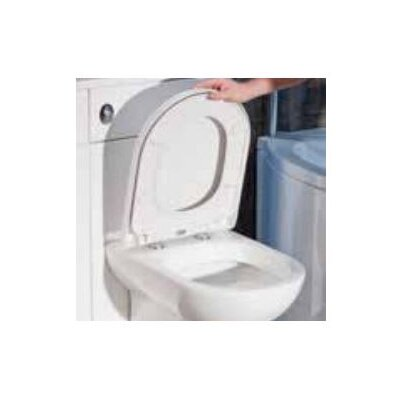 Cassellie Top Fix D Shaped Quick Release Heavy Duty Toilet Seat