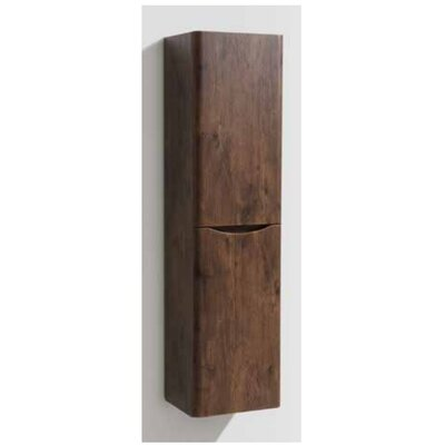 Cassellie 40 x 150cm Wall Mounted Tall Bathroom Cabinet