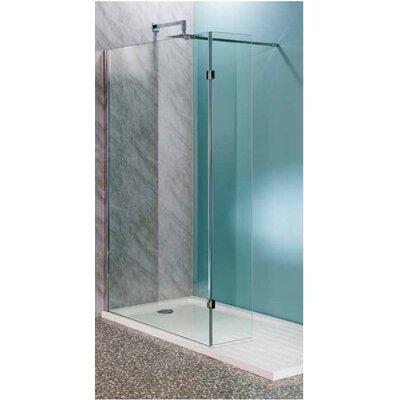 Cassellie 30cm x 30cm x 200cm Hinged Flipper Wet Room Panel