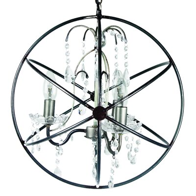 Inart Metal Ceiling Light