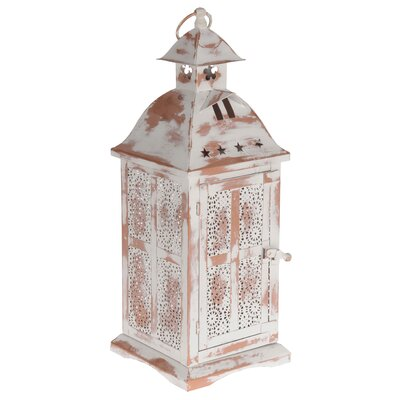 Inart Metal Outdoor Lantern