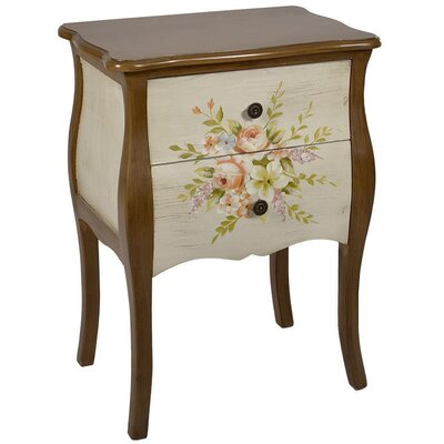 Inart 2 Drawer Chest of Drawers