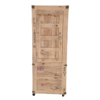 Inart 1 Door 2 Drawer Cabinet