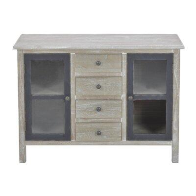 Inart 2 Door 4 Drawer Cabinet