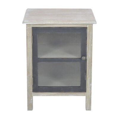 Inart 1 Door Cabinet
