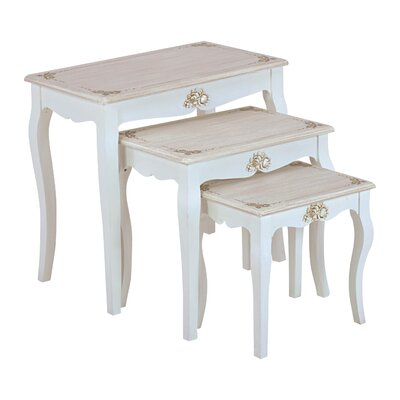 Inart 3 Piece Nest of Tables