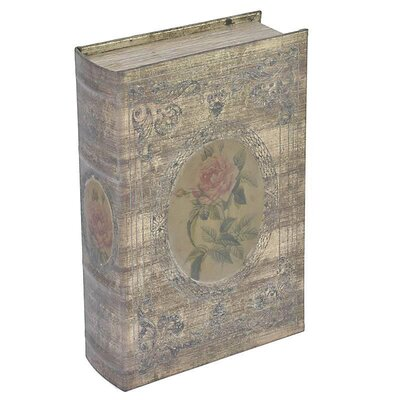 Inart Wooden and PU Book Box