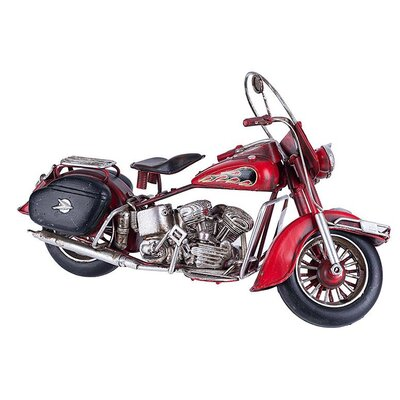 Inart Decorative Metal Motorcycle