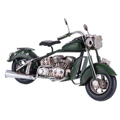 Inart Metal and Polyresin Motorcycle