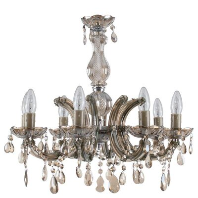 Inart 8 Light Candle Chandelier