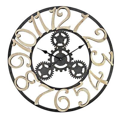 Inart 75cm MDF Wall Clock