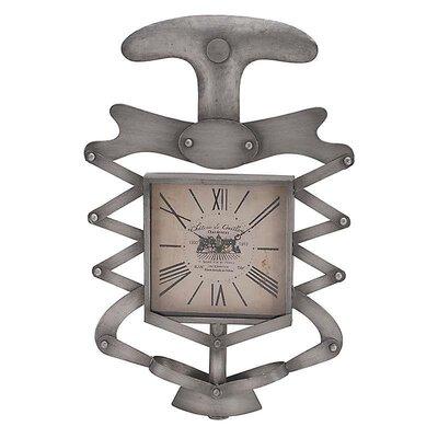 Inart 'Bottle Opener' Wooden Wall Clock