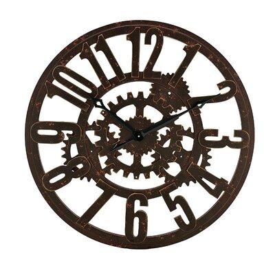 Inart 80cm MDF Wall Clock