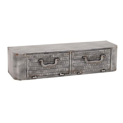 Inart Metal Wall Shelf