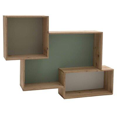 Inart Wooden Wall Shelf