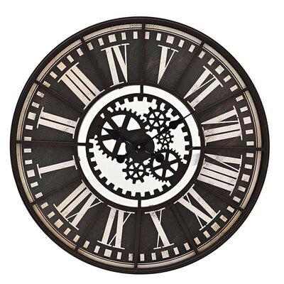 Inart 80cm Metal Wall Clock
