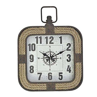 Inart Rope/MDF Wall Clock
