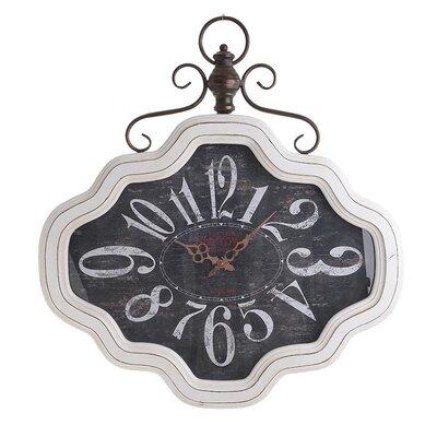 Inart Wooden/Metal Wall Clock