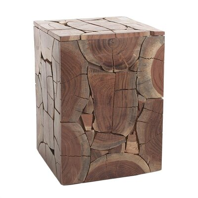 Inart Wooden Stool