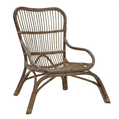 Inart Rattan Lounge Chair