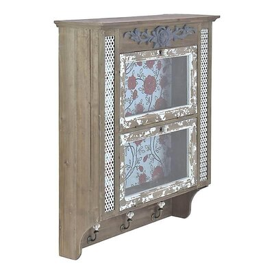 Inart Wooden Wall Cabinet
