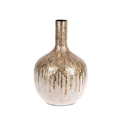 Inart Bamboo Shell Covered Vase