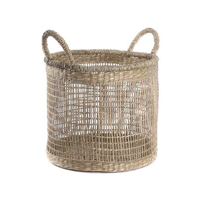 Inart 2 Piece Seagrass Basket Set
