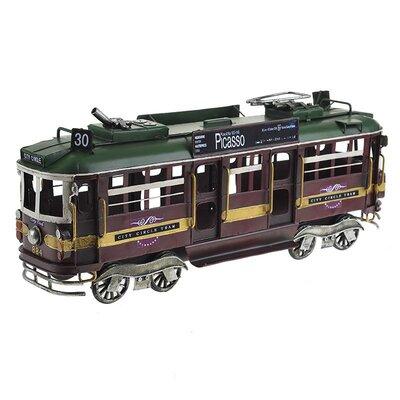 Inart Metal Model Tram Car