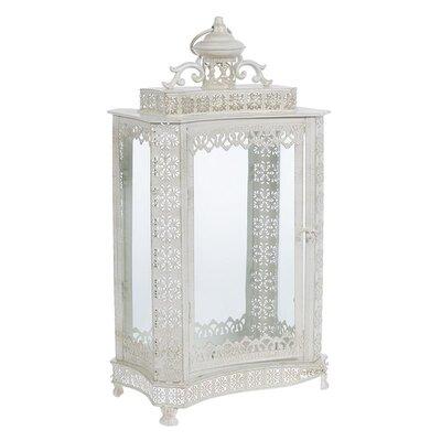 Inart Metal/Glass Lantern