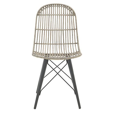 Inart Rattan Side Chair