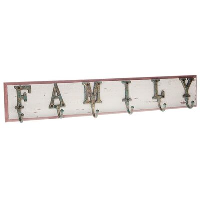 Inart Wooden Wall Hanger