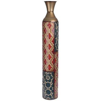 Inart Metal Floor Vase