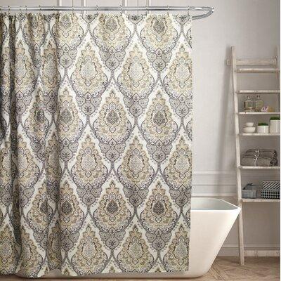 Mitchem Canvas Shower Curtain
