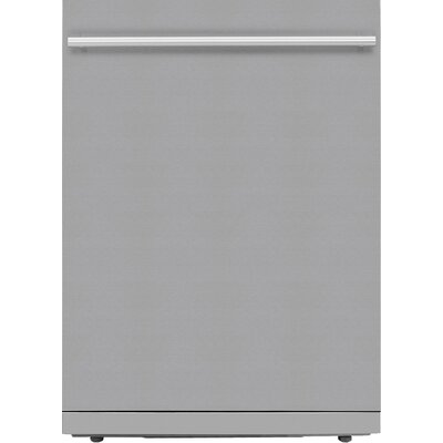 "24"" 48 dBA Built-In Dishwasher Color: Grey, Panel Ready: No"