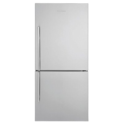 16.2 cu. ft. Energy Star Counter Depth Bottom Freezer Refrigerator Handle Location: Right