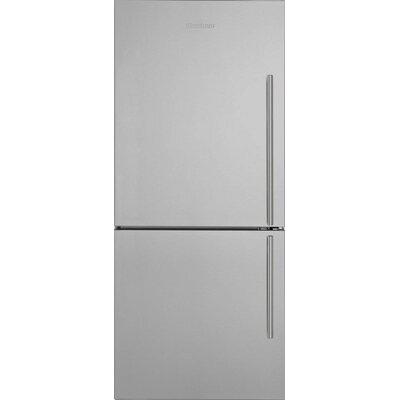 16.2 cu. ft. Energy Star Counter Depth Bottom Freezer Refrigerator Handle Location: Left