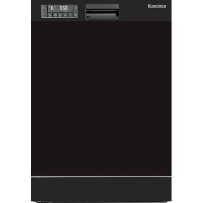 """24"""" 49 dBA Built-In Front Dishwasher Color: Black"""