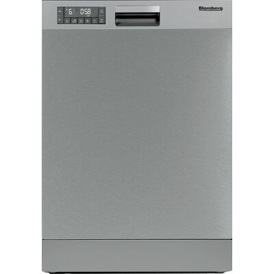 "24"" 49 dBA Built-In Front Dishwasher Color: Stainless Steel"
