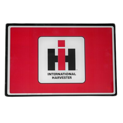 """International Harvester Tempered Glass Cutting Board Size: 12"""" H x 16"""" W x 0.25"""" D"""