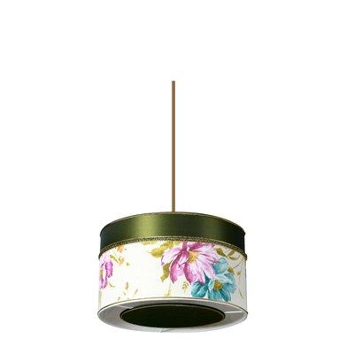 Pura Lux Primavera 1 Light Drum Pendant