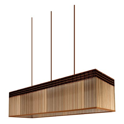 Pura Lux Savana 3 Light Geometric Pendant