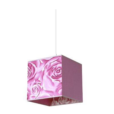 Pura Lux Rosa 1 Light Mini Pendant