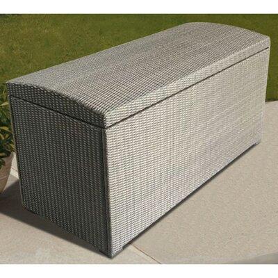 81 Gallon Wicker Deck Box