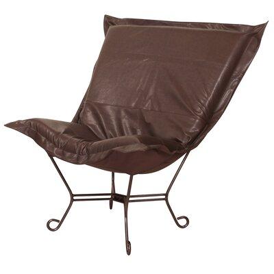 Azaria Scroll Lounge Chair Upholstery: Avanti Pecan